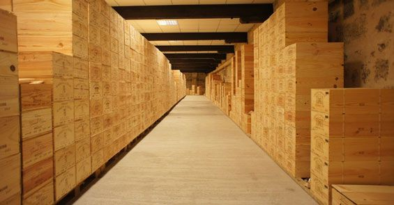 wine storage warehouse