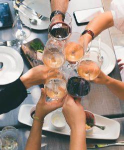 Full Wine Glasses